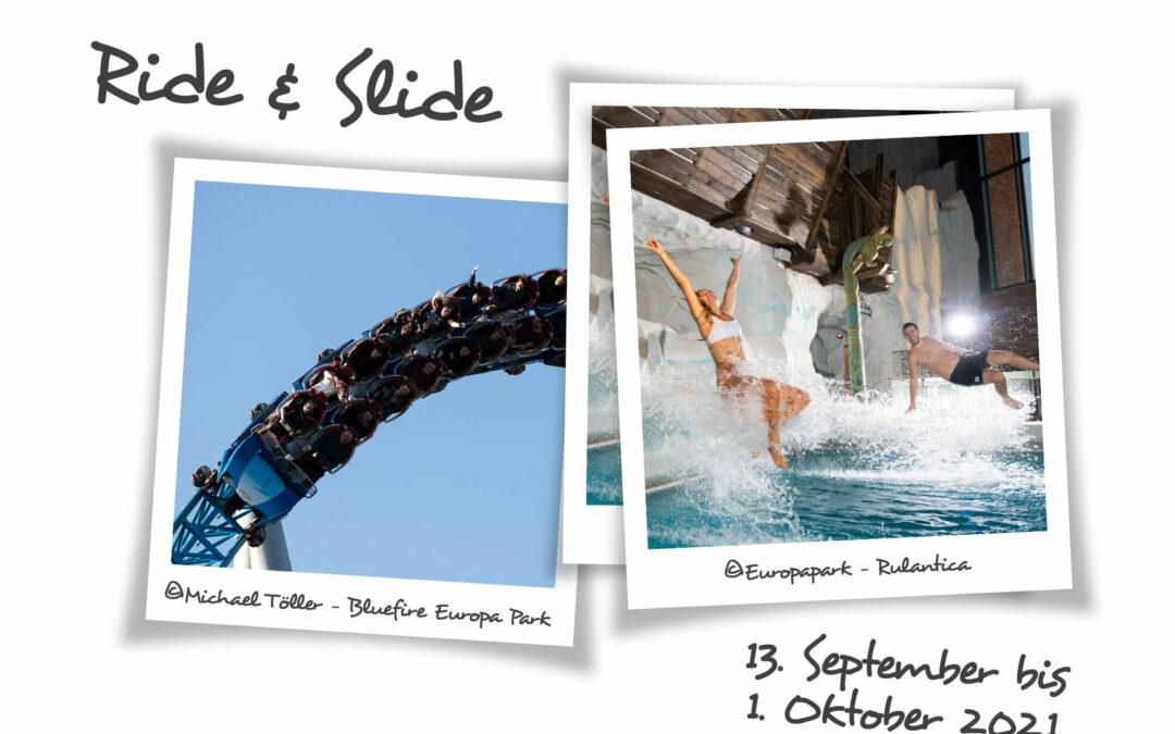 """2 Parks – 1 Ticket  """"Ride & Slide"""" macht es möglich!"""